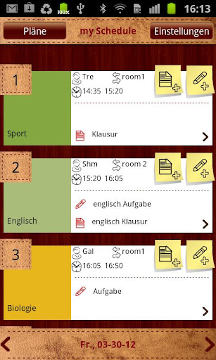 Schoolplanner Free Timetable