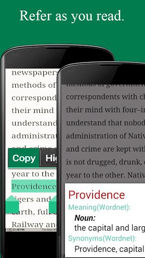 Power Reading: Word Snitch Screenshot