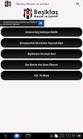 Screenshot of Beşiktaş Marşları