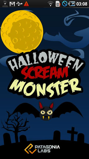 Halloween Scream Monster