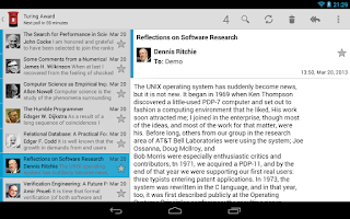 Screenshot of Kaiten Mail (Free)