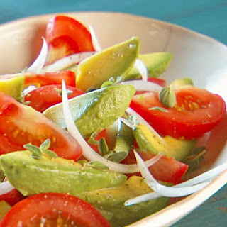 Tomato, Avocado, and Cilantro Salad