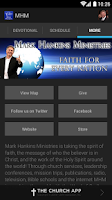 Screenshot of Mark Hankins Ministries