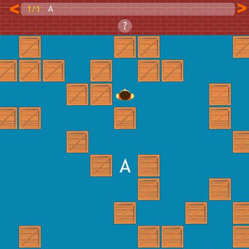 Alphabet Number & Word Maze