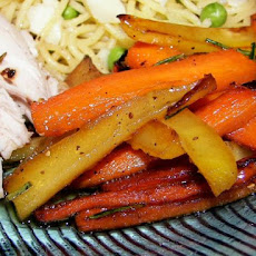 Sauteed Parsnips and Carrots With Honey and Rosemary
