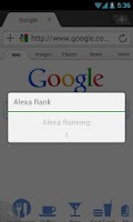 Screenshot of Dolphin Alexa Rank