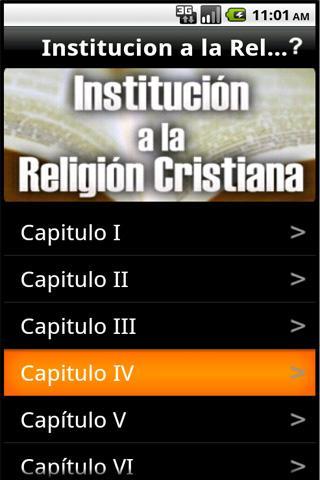 Institucion a la Religion