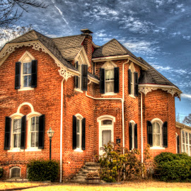 historic majesty by Jody Jedlicka - Buildings & Architecture Homes ( hdr, midwest, victorian, real estate, historic homes )