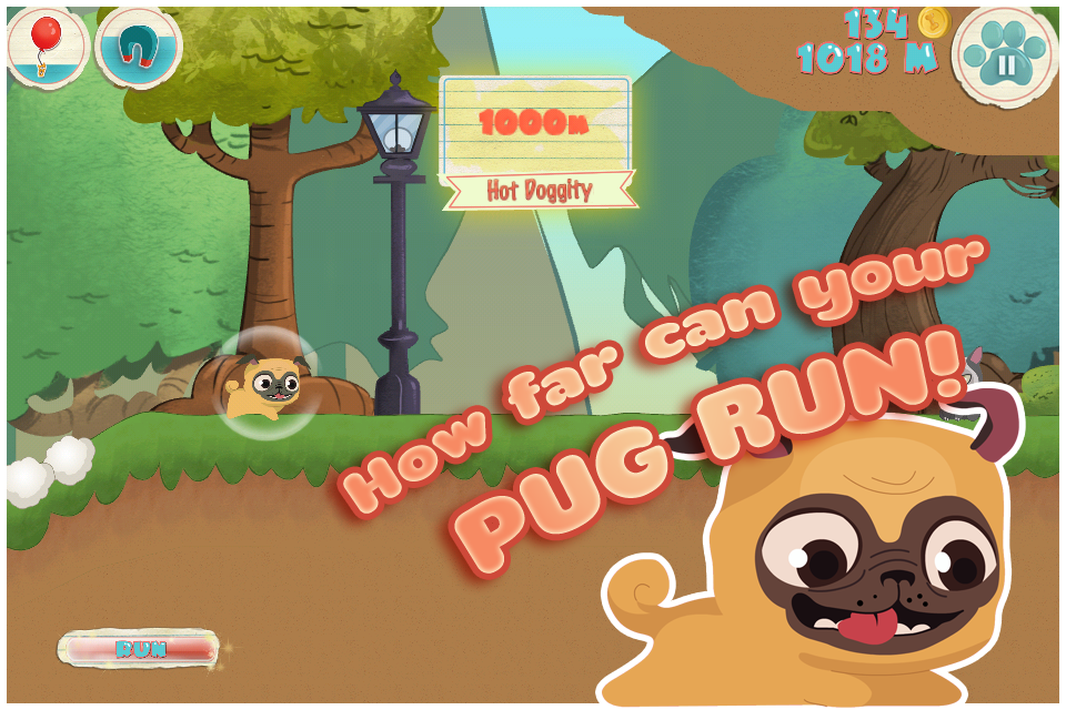 Pug Run Screenshot 1