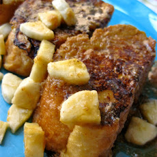 Buttermilk French Toast with Jay's Peanut Butter Maple Syrup