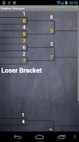 Screenshot of Bracket Manager