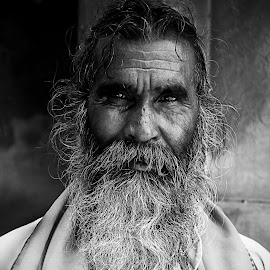 The old priest by Sauban Ahmad - People Portraits of Men ( priest, faces, old man, people, portrait )