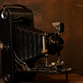 Kodak by Nolan Burnette - Artistic Objects Antiques ( old, pocket, pohtography, camera, film camera, antiques )