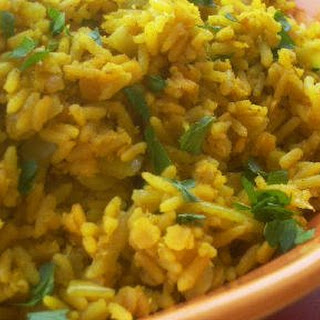 Curried Rice and Red Lentils