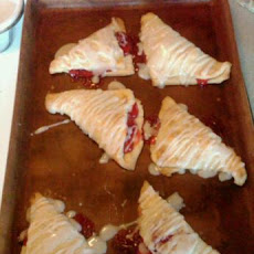 Lemon-Glazed Fruit Turnovers