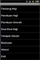 Screenshot of Aplikasi Panduan Ibadah Haji