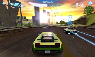 Screenshot of Asphalt 6: Adrenaline