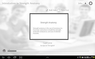 Screenshot of Strength Anatomy