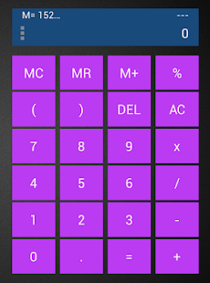 Customizable Calculator Widget - screenshot