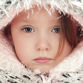 Winter Hood by Cheryl Korotky - Babies & Children Child Portraits