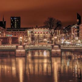 Gothenburg channels by Peter Björklund - City,  Street & Park  Skylines