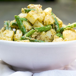 Potato Salad with Green Beans and Pesto