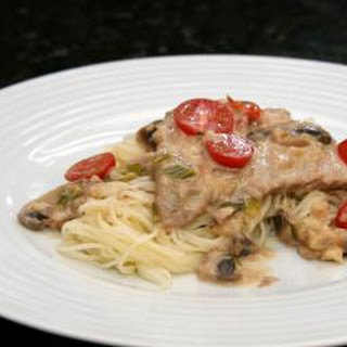 Veal Cutlets with Creamy Marsala Sauce