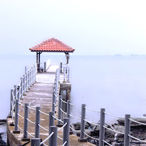 Tanjung Piai Jetty... Pontian, Johor. by Esyam Din - Buildings & Architecture Bridges & Suspended Structures