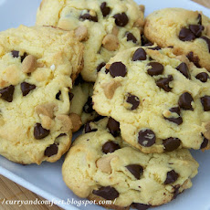 Chocolate & Peanut Butter Chip Cookies
