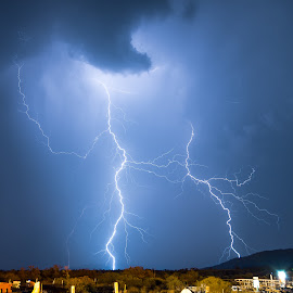 Minesite Hammered By Lightning by Michael Beazley - News & Events Weather & Storms