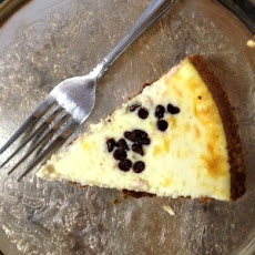 Low Calorie Chocolate Chip Cheesecake