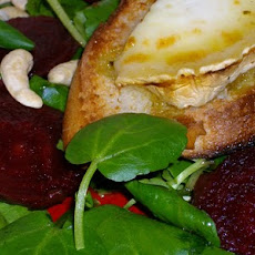 Salad of Watercress, Beetroot, and Goats Cheese