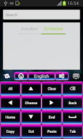 Screenshot of Neon Magic Keyboard