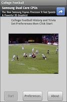 Screenshot of NCAA College Football History