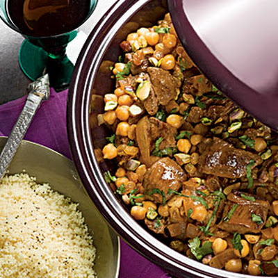 Lamb and Chickpea Tagine