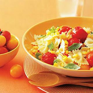 Summer Corn And Tomato Pasta Recipes