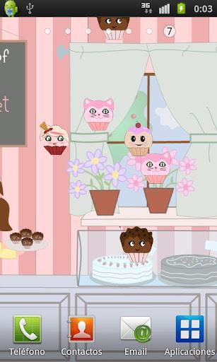 Cupcake Live Wallpaper Free