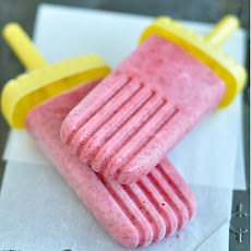 Strawberry-Yogurt Popsicles