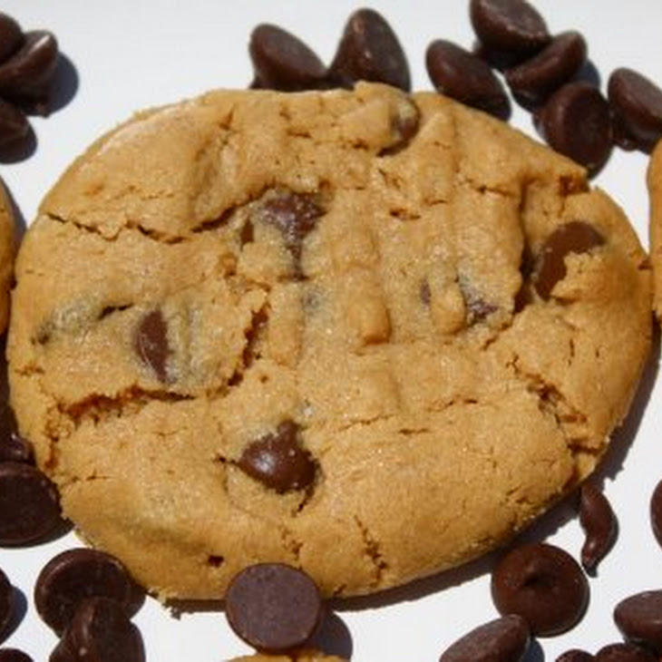 Flourless Peanut Butter Chocolate Chip Cookies Recipe | Yummly