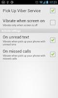 Screenshot of Pick Up Vibro Lite