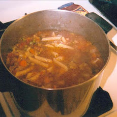 The Ospidillo Cafe Minestrone Soup