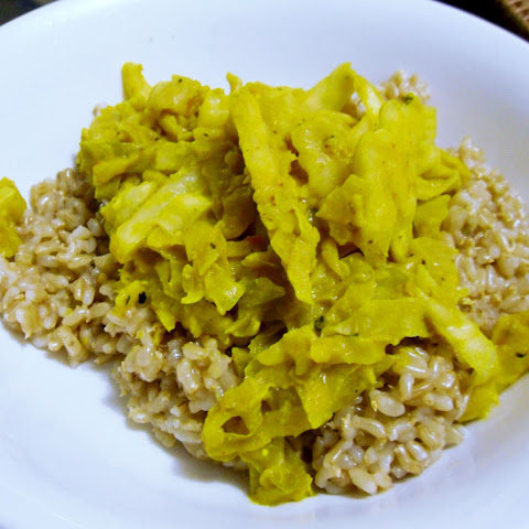 Sunny Mustard Cabbage Curry