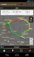 Screenshot of Runtastic Mountain Bike PRO