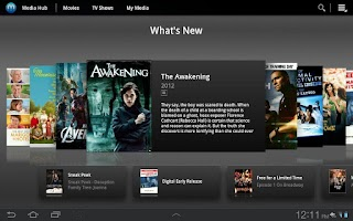Screenshot of Samsung Media Hub