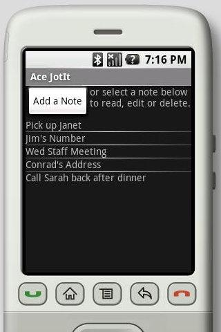 Ace JotIt Quick Notepad