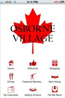 Screenshot of Osborne Village Official App