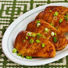 Low Sugar (or sugar-free) Teriyaki Chicken