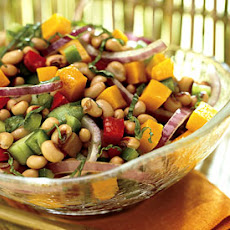 Black-Eyed Pea and Pumpkin Salad