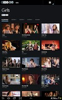 Screenshot of HBO GO