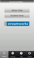 Screenshot of Streamworks Mobile